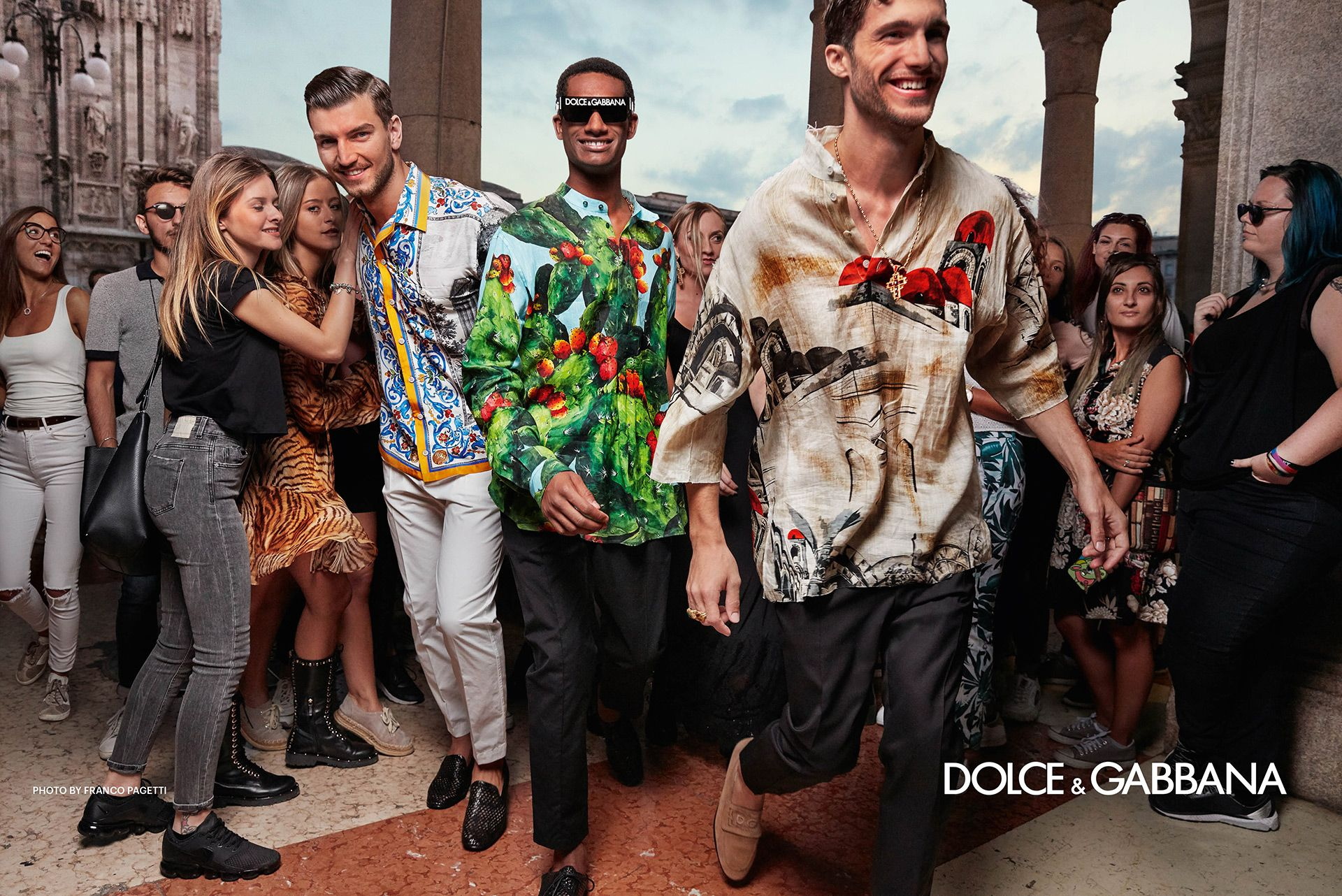 1e86810d9f63 Dolce Gabbana Men s Spring Summer 2019 by Franco Pagetti - L Homme Dolce  Gabbana Descend