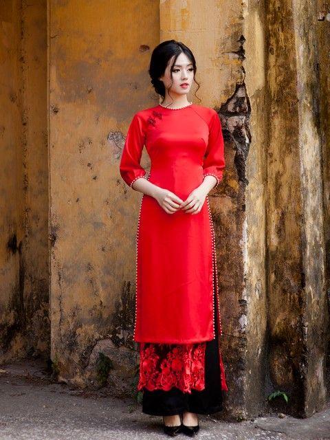 Ghim của Courtney trên AO DAI   Váy, Phong cách thời trang