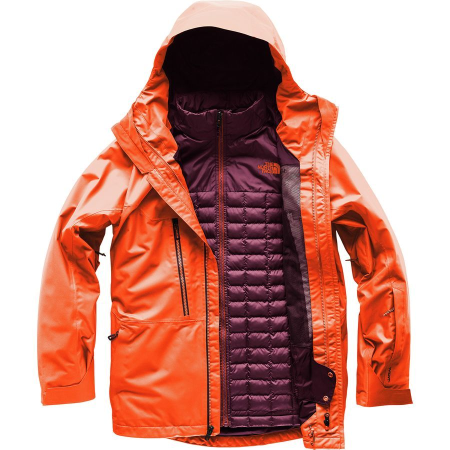 53d4f3d0e The North Face Thermoball Snow Triclimate Hooded Jacket - Men's ...
