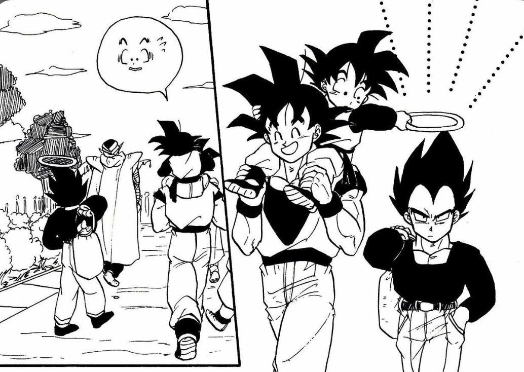 Dbz Manga Panel Anime Dragon Ball Dragon Ball Art Dragon Ball Z
