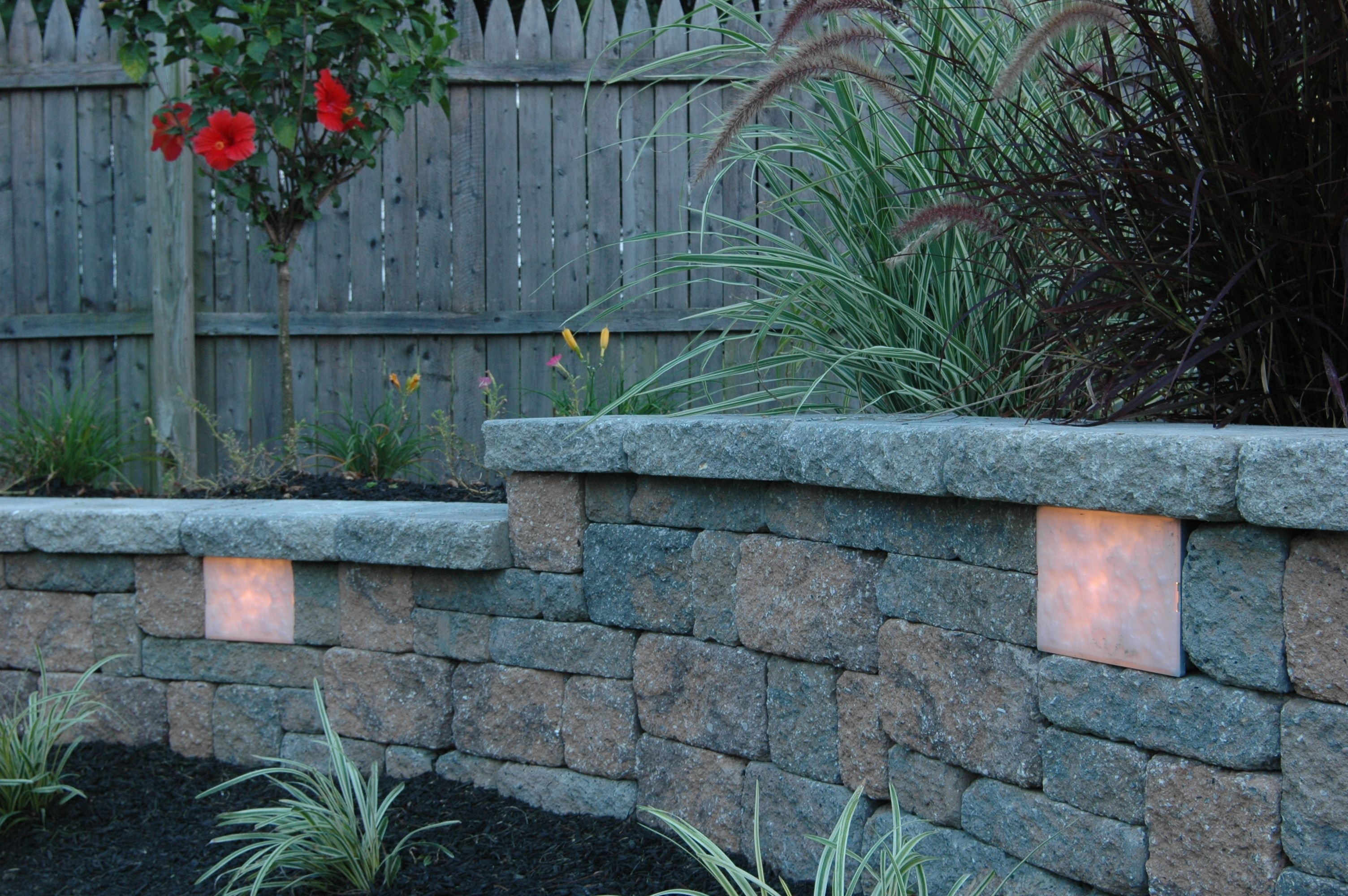 Scartclub Us Retaining Wall Lighting Garden Wall Lights Garden Wall