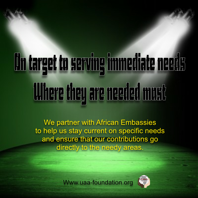 UAA-Foundation is working around the African continent to relieve poverty. The primary purpose of our community-based programs is to help our drive to lift impoverished African communities ... http://uaa-foundation.org/index.html