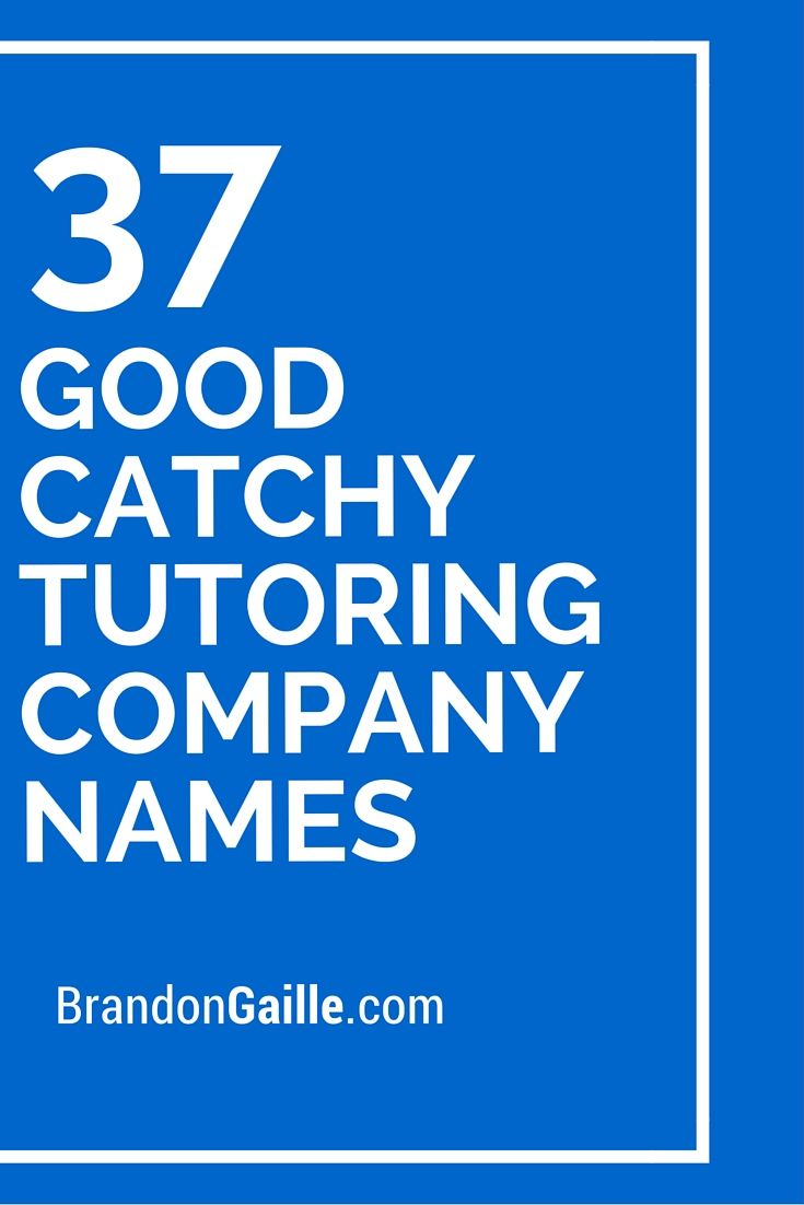 catchy tutoring slogans