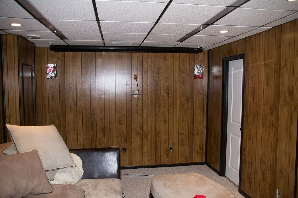 Using Paintable Wallpaper To Cover Wood Paneling Super Nova