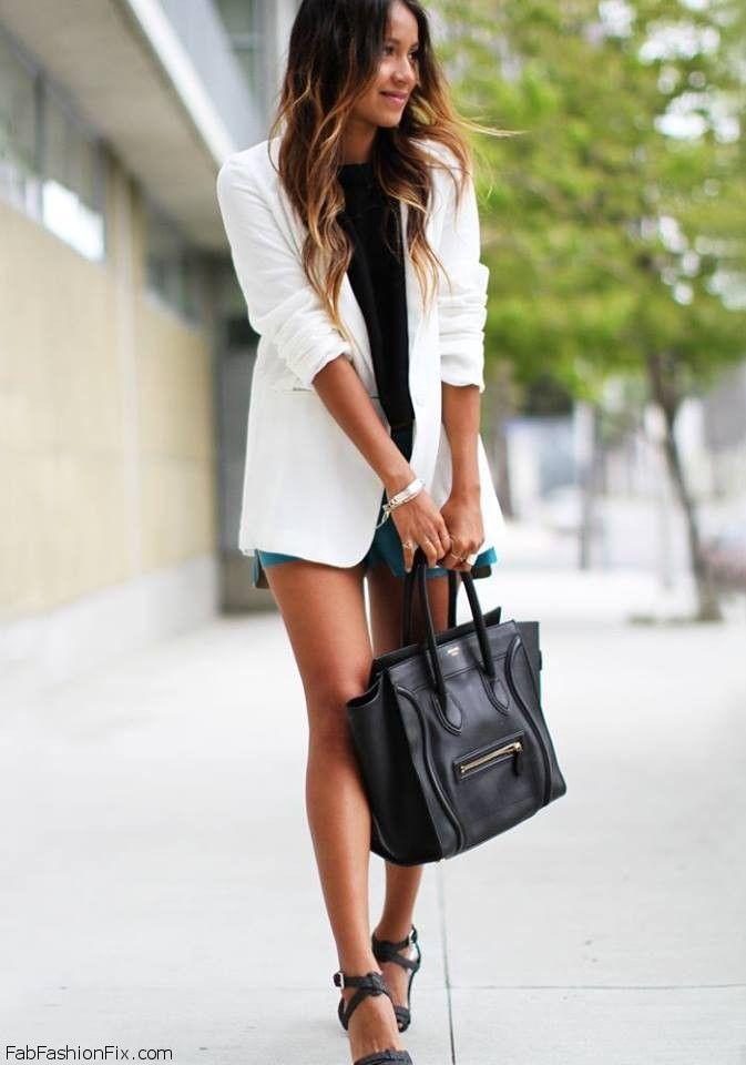 Bedwelming How to wear: de witte blazer | kleding - Sincerely jules, How to @EN71
