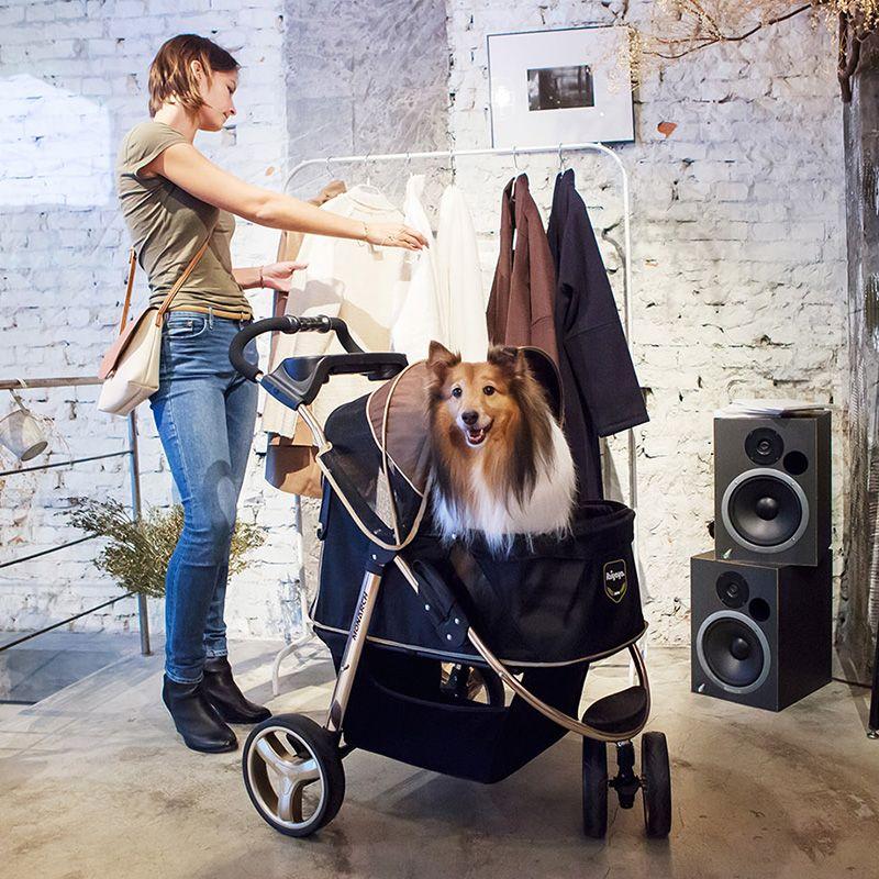 30kg Luxury Dog Carrier Cart Dog Cat Stroller Folding Pet