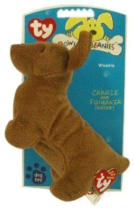 Ty Bow Wow Beanies Weenie the Dachshund Dog Toy Bow Wow Beanies, http://www.amazon.com/dp/B000HGAOZI/ref=cm_sw_r_pi_dp_c6jAtb16HE8BJ17H