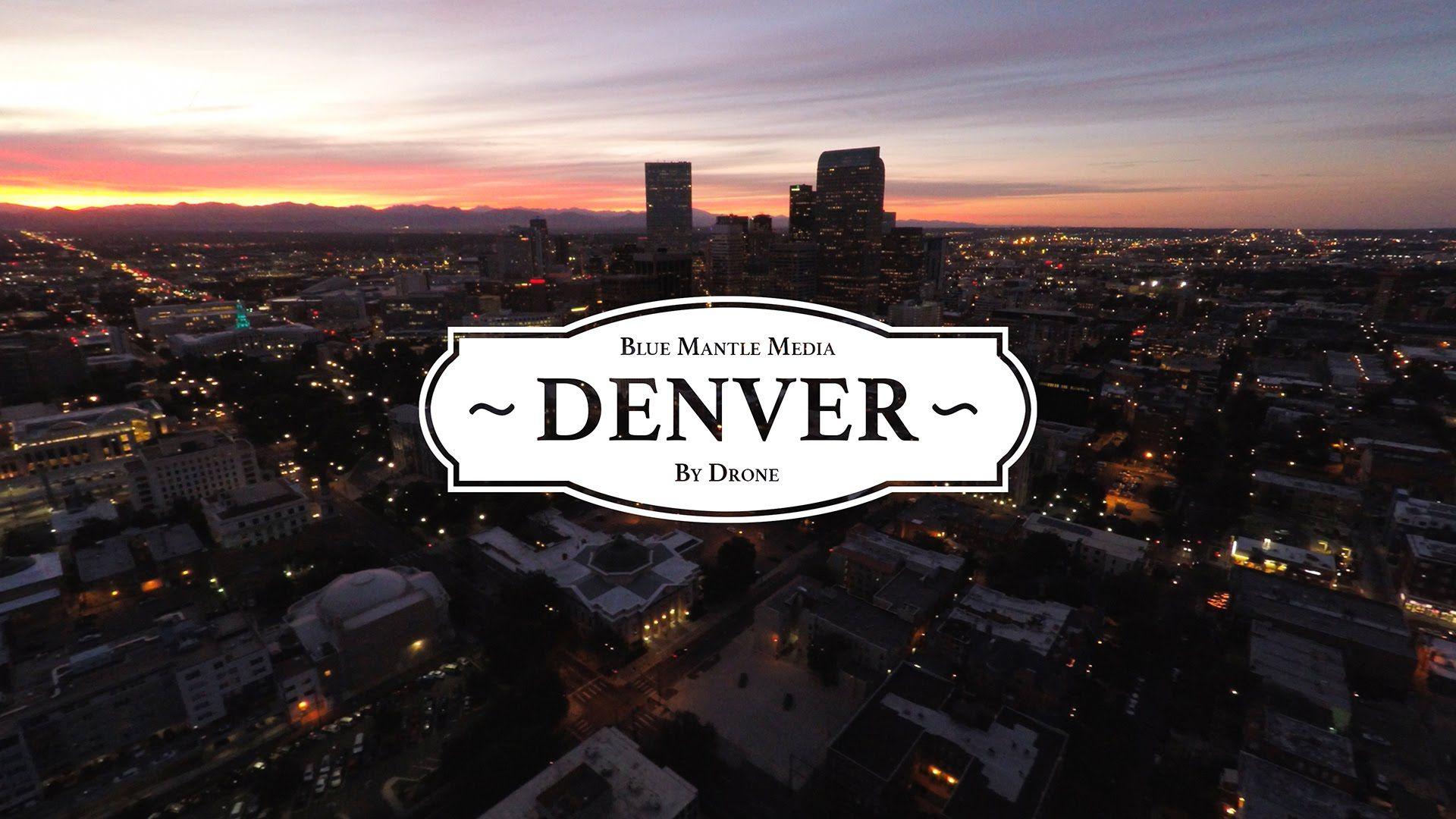 Denver by Drone in 4K Denver, Denver city, Aerial footage