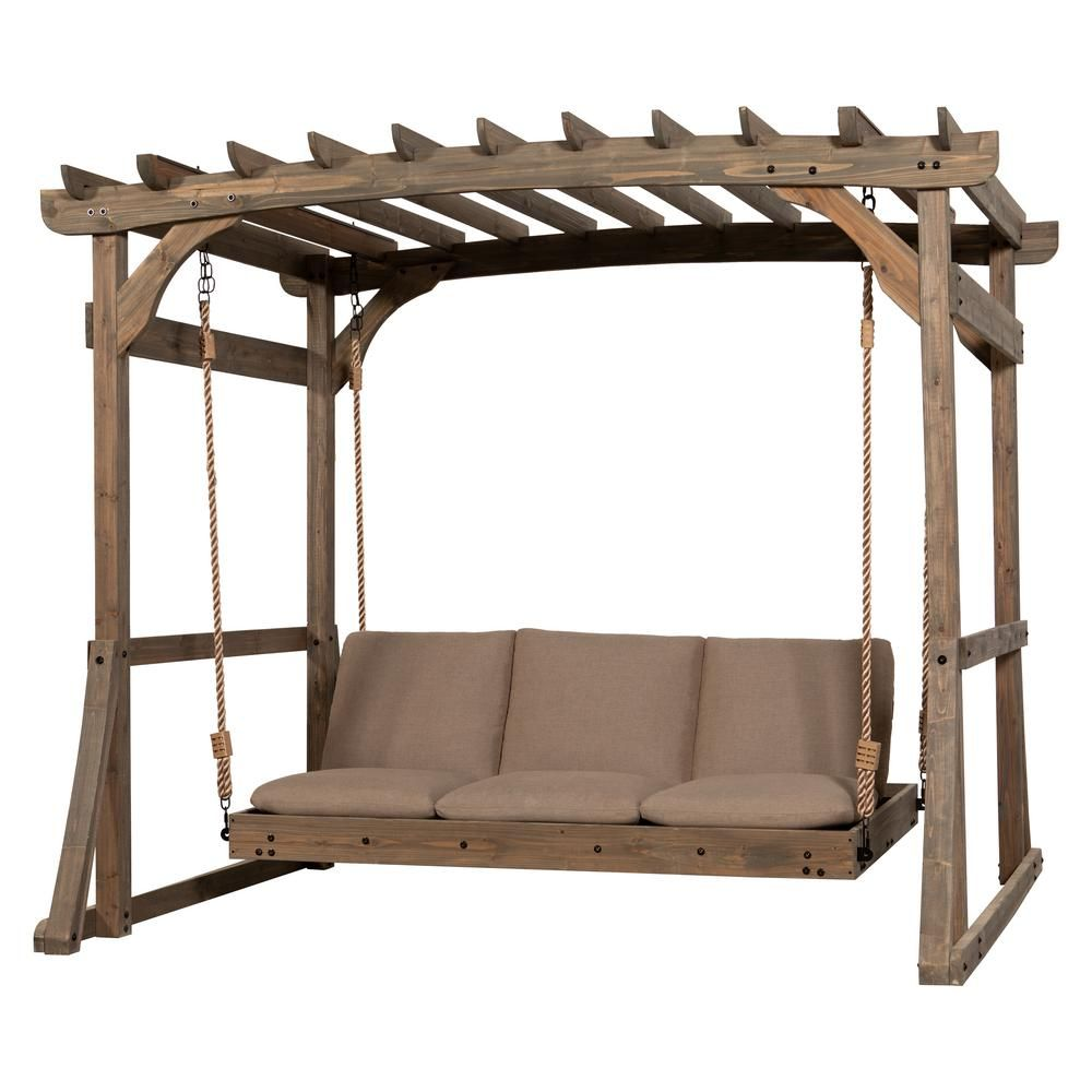 Swing into relaxation With the new Claremont Lounger from ... on Backyard Discovery Pavilion id=12757