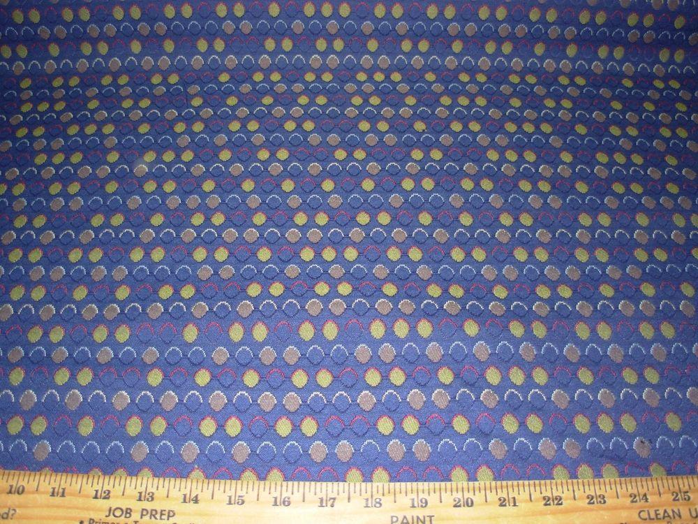 6 6 8 Yds Modern Retro Eames Era Woven Upholstery Fabric Fabric