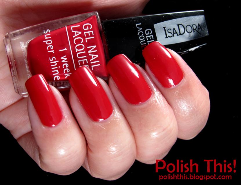 isadora gel nail polish