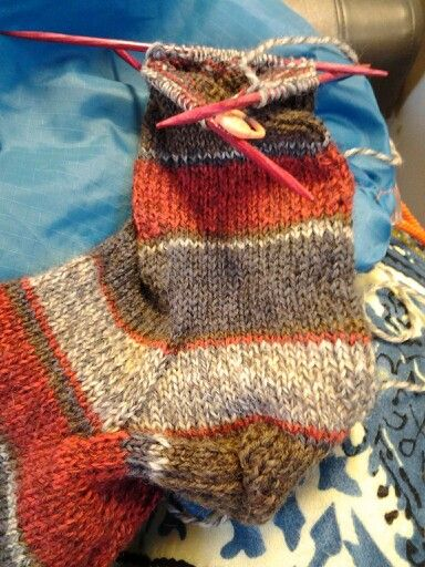 Socks from Patons Kroy Sock