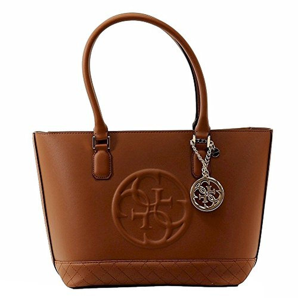 Guess Tote Bag On Sale, Bronze, polyurethane, 2017, one size