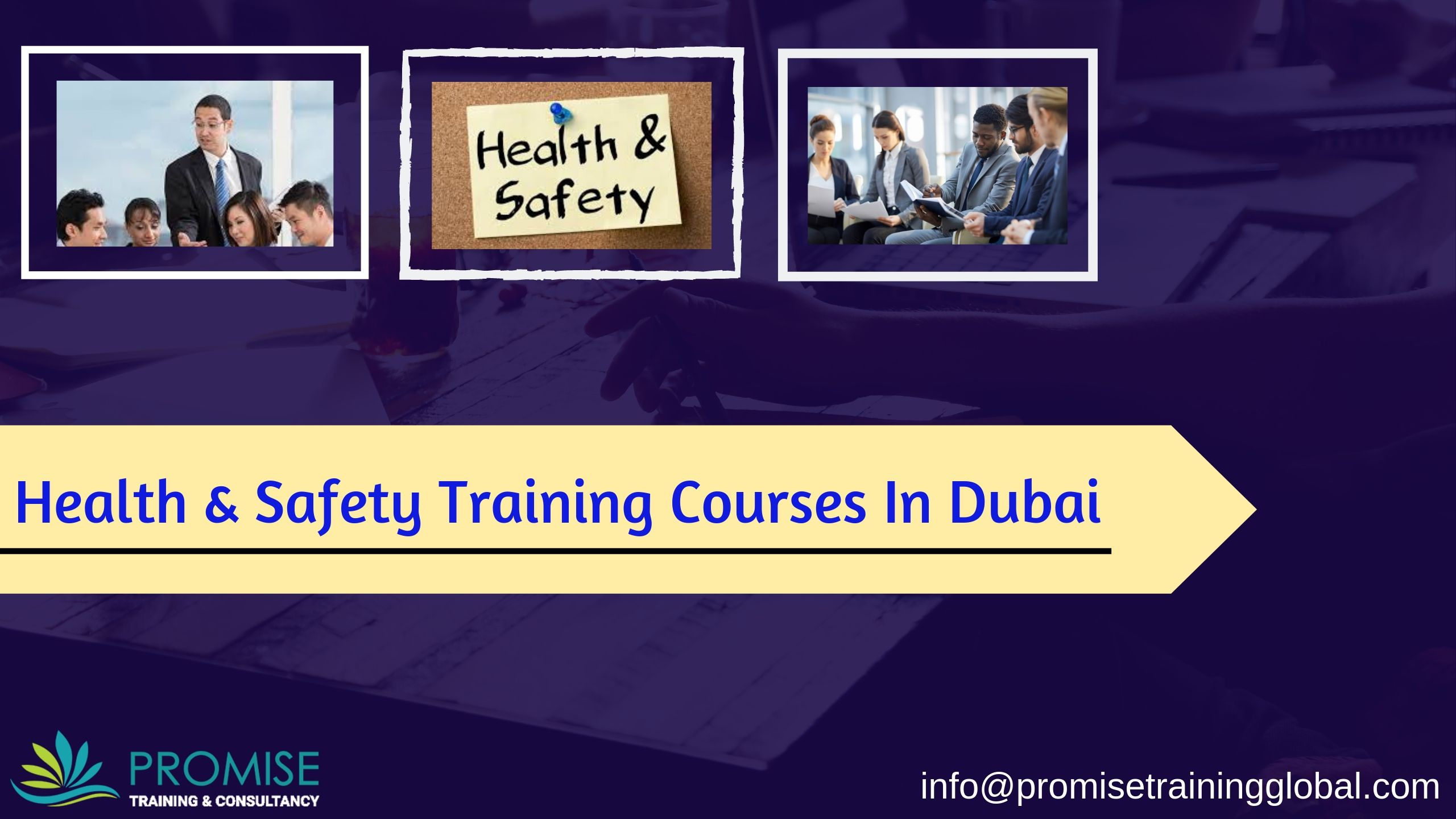 Health & Safety Training Courses Safety training, Health