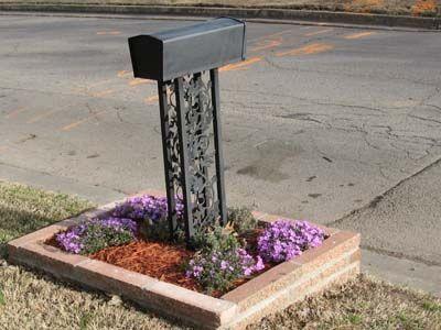 ideas for around mailbox
