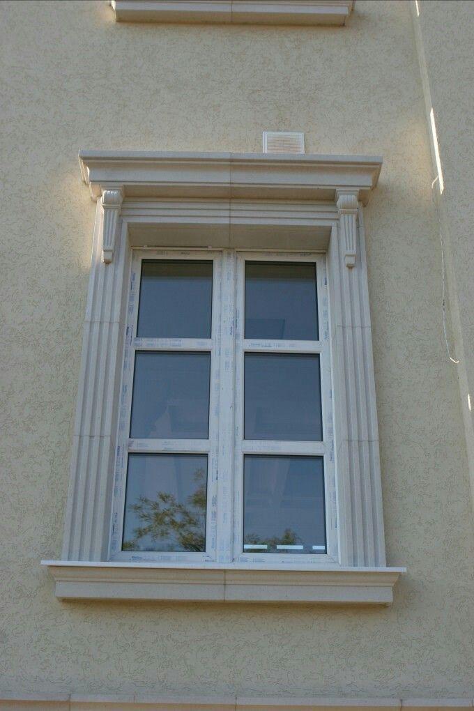 Pin By Oscar Lucero On Okno Window Trim Exterior Classic House Design House Windows