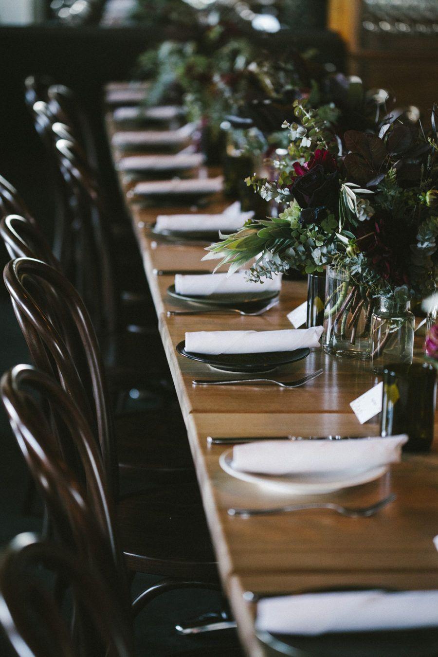 Moody Evening Wedding At Fitzroy's Panama Dining Room  Wedding Mesmerizing Panama Dining Room 2018