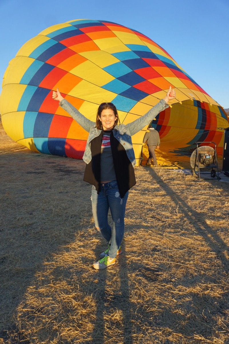 My Calistoga Getaway and incredible Hot Air Balloon Ride