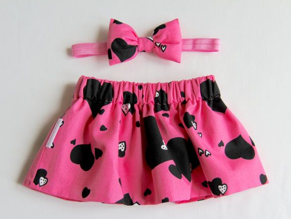Hey, I found this really awesome Etsy listing at https://www.etsy.com/listing/271321183/heart-skirt-hot-pink-skirt-girls-skirt