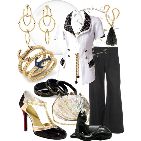"""""""Sea style"""" by neurone on Polyvore"""
