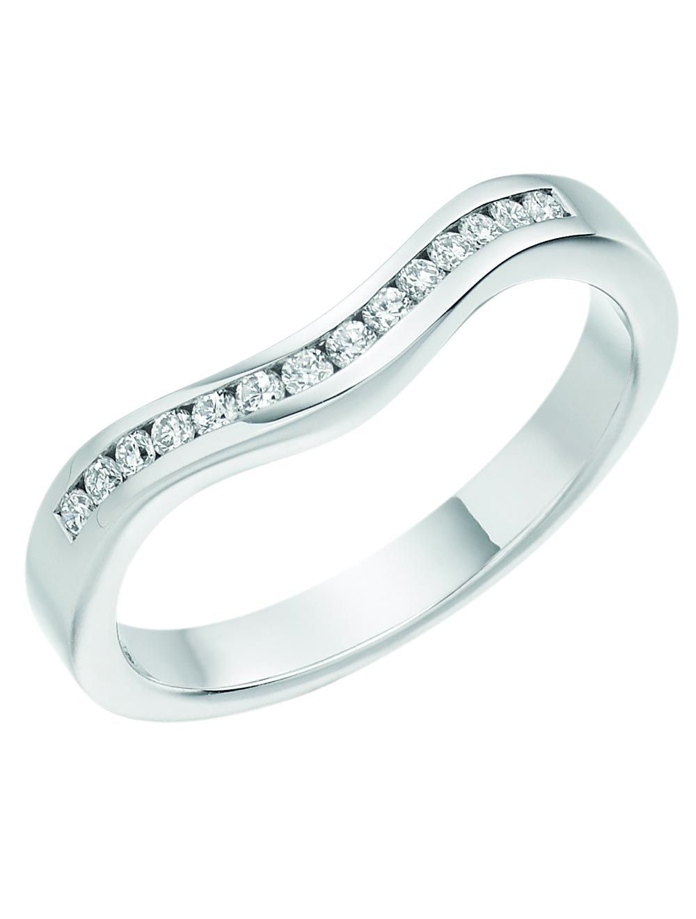 Womens 18ct White Gold Wedding Ring In 2020 White Gold Wedding Rings Gold Diamond Wedding Rings Diamond Wedding Bands