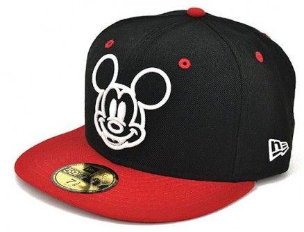 Gorra Plana Mickey Mouse  2f3671548a3
