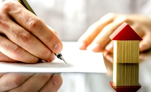 a legal agreement by which a bank, building society, etc lends - home purchase agreement