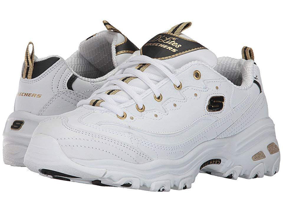 skechers white gold