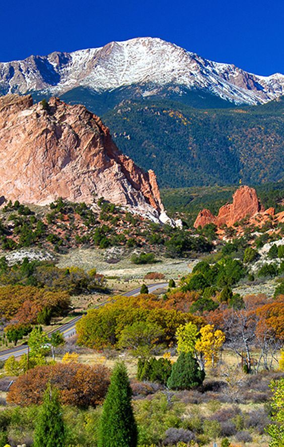 Cheap Flight Tickets Colorado Travel Scenery Pikes Peak Colorado