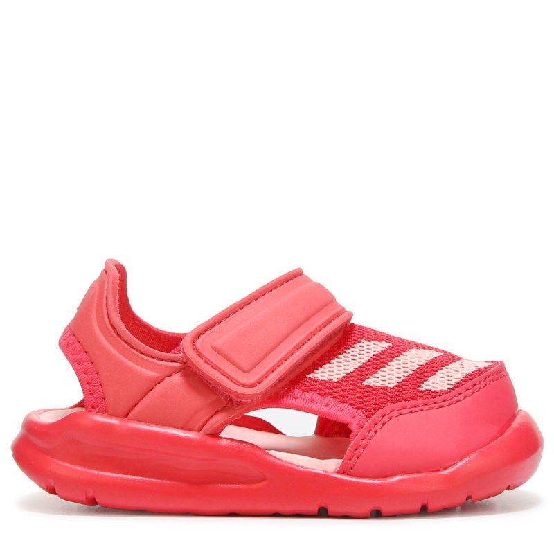 5cbb7e4c9621 Adidas Kids  Fortaswim Sandal Toddler Shoes (Core Pink Haze Coral) - 5.0 M