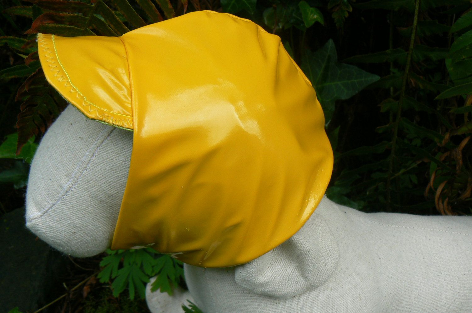 Comfortable Dog Rain Hat Added Protection To My Custom Ordered Coats Special Measurements Required Rain Hat Dog Hat Rain