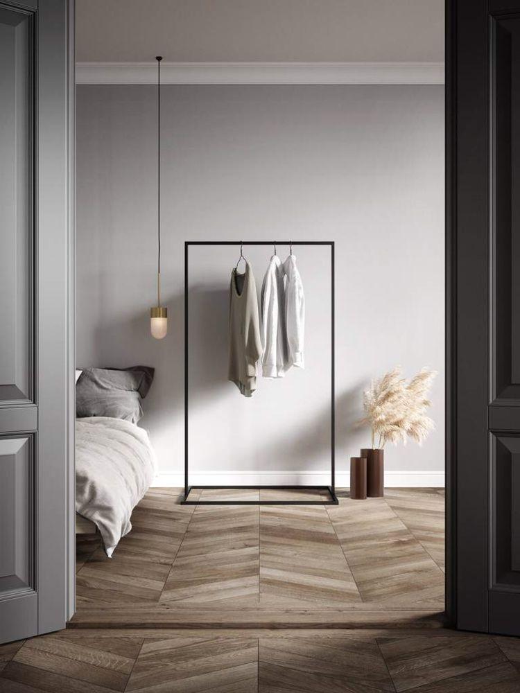 Photo of Klesstativ   minimalistisk garderobestativ #clothingracks Clothes Rack   minim …