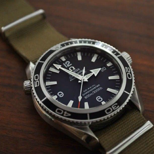 Omega Seamaster Planet Ocean Nato Strap Watches