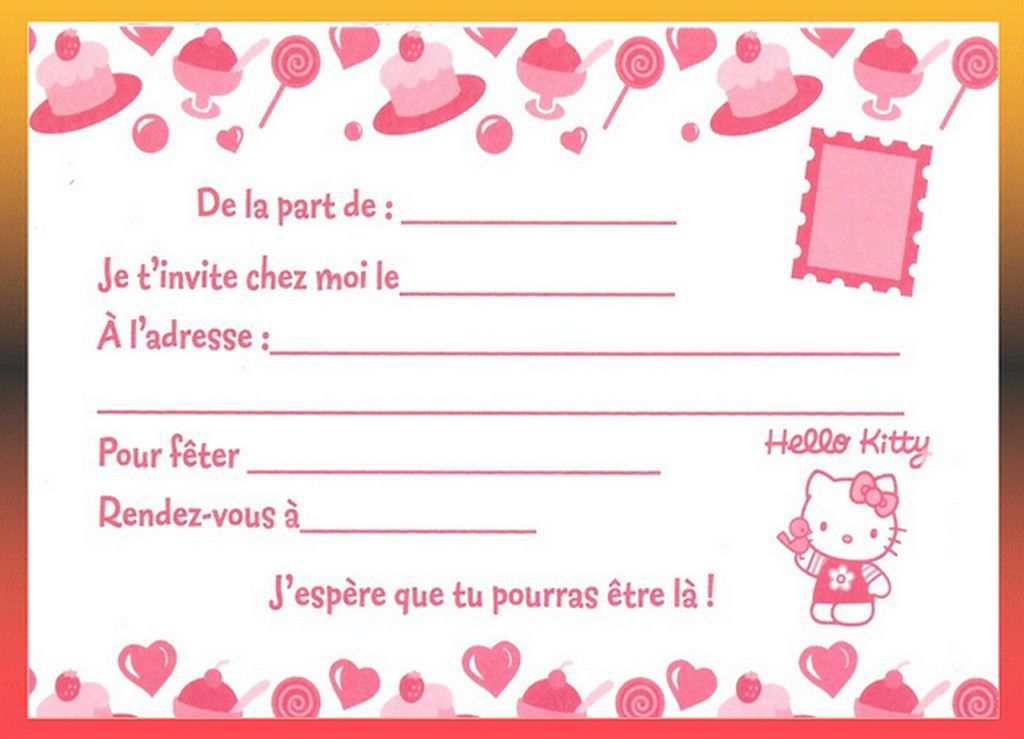 carte invitation anniversaire imprimer gratuite fille carte invitation anniversaire. Black Bedroom Furniture Sets. Home Design Ideas