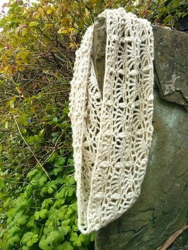 Free crochet pattern - Shell Pattern Cowl   Crochet   Pinterest ...