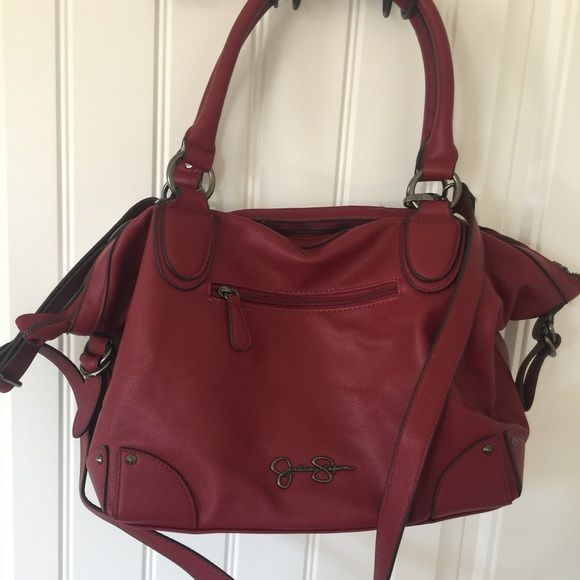 Jessica Simpson Handbag Red Jessica Simpson purse •Brand new with tags  •Approx size 15