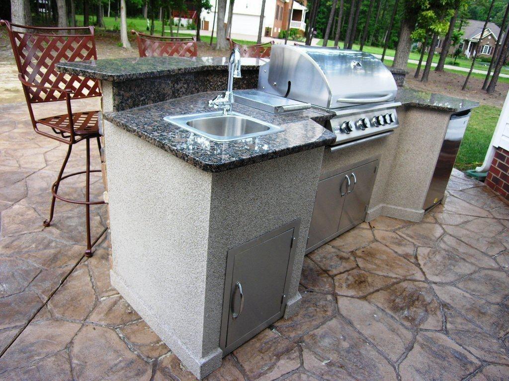 42 Amazing Diy Ideas For Upgrade Kitchen Outdoor Outdoor Kitchen Island Outdoor Kitchen Sink Outdoor Kitchen Kits