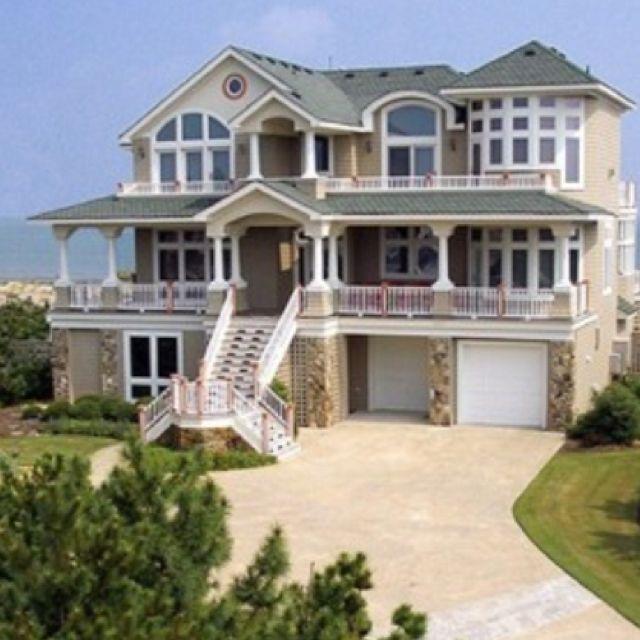 beautiful beach house Dreaming Pinterest Beautiful