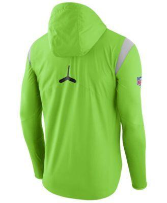 5dd8fa51e Nike Men s Seattle Seahawks Lightweight Fly Rush Jacket - Green XXL