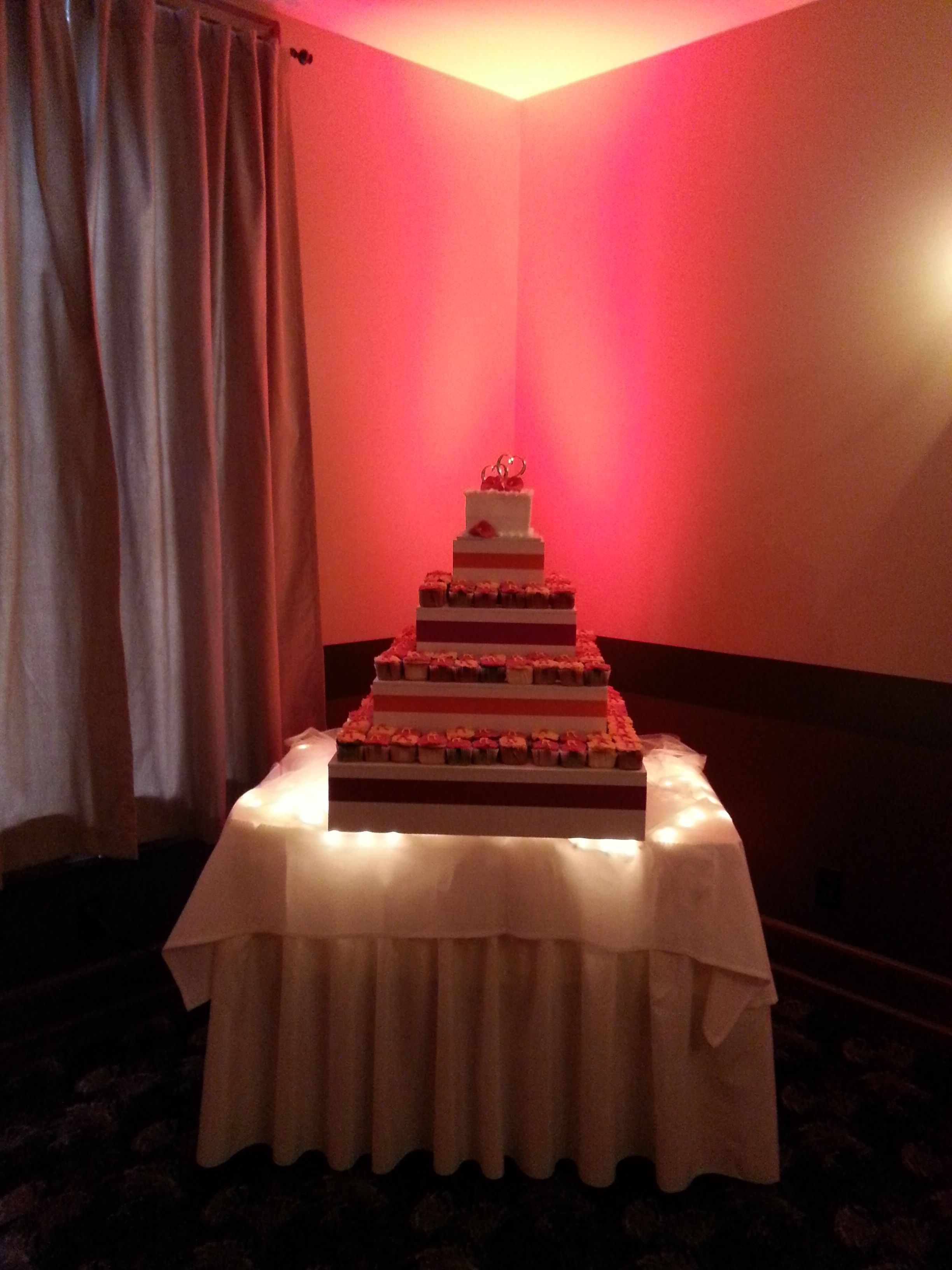 Cupcakes are always an option at Langley Hall, we have different favors and icings to pick from