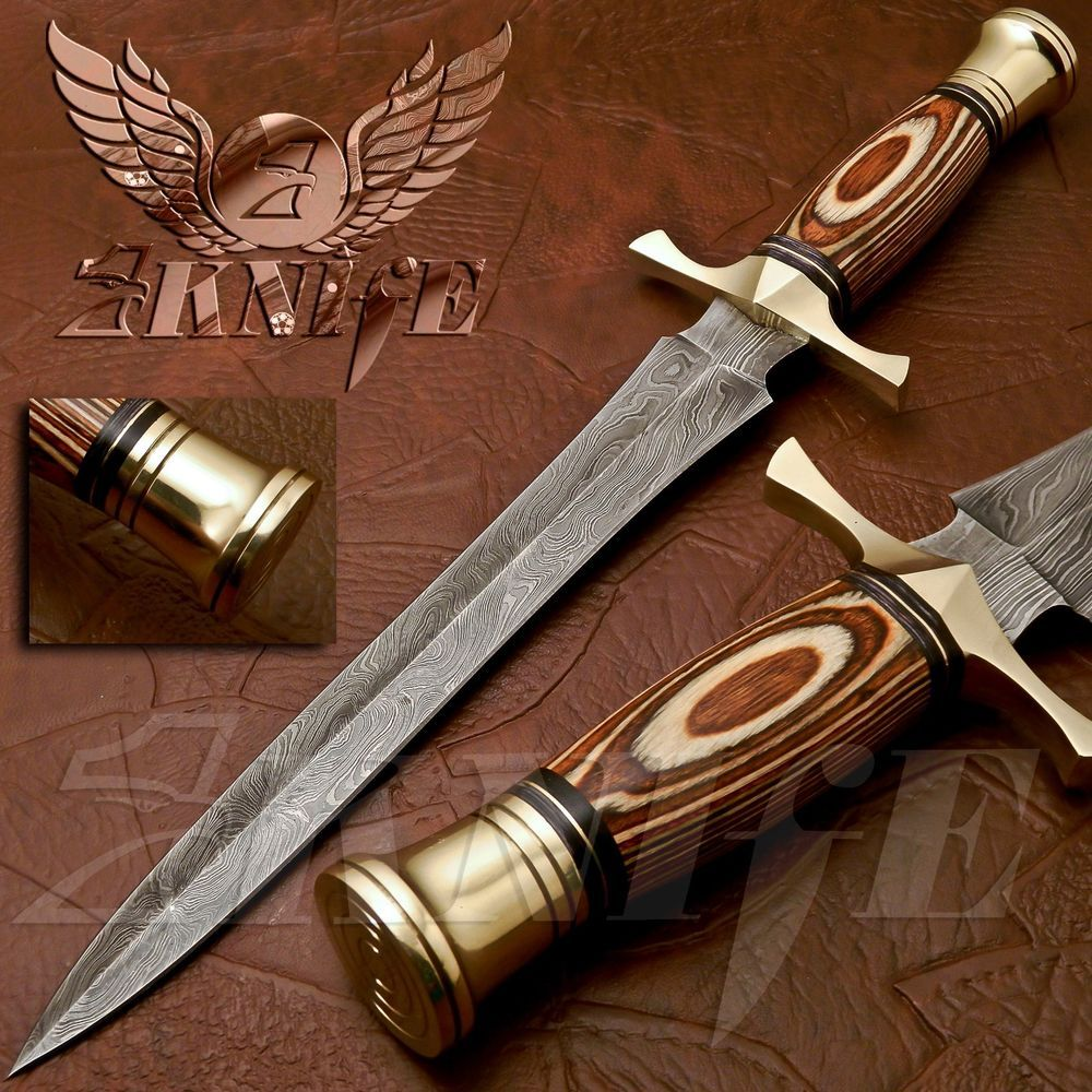 Details About Beautiful Custom Hand Made Damascus Steel