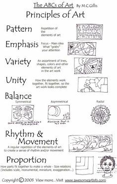 Printables Principles Of Design Worksheet 1000 images about lessons on pinterest art elements principles of and design