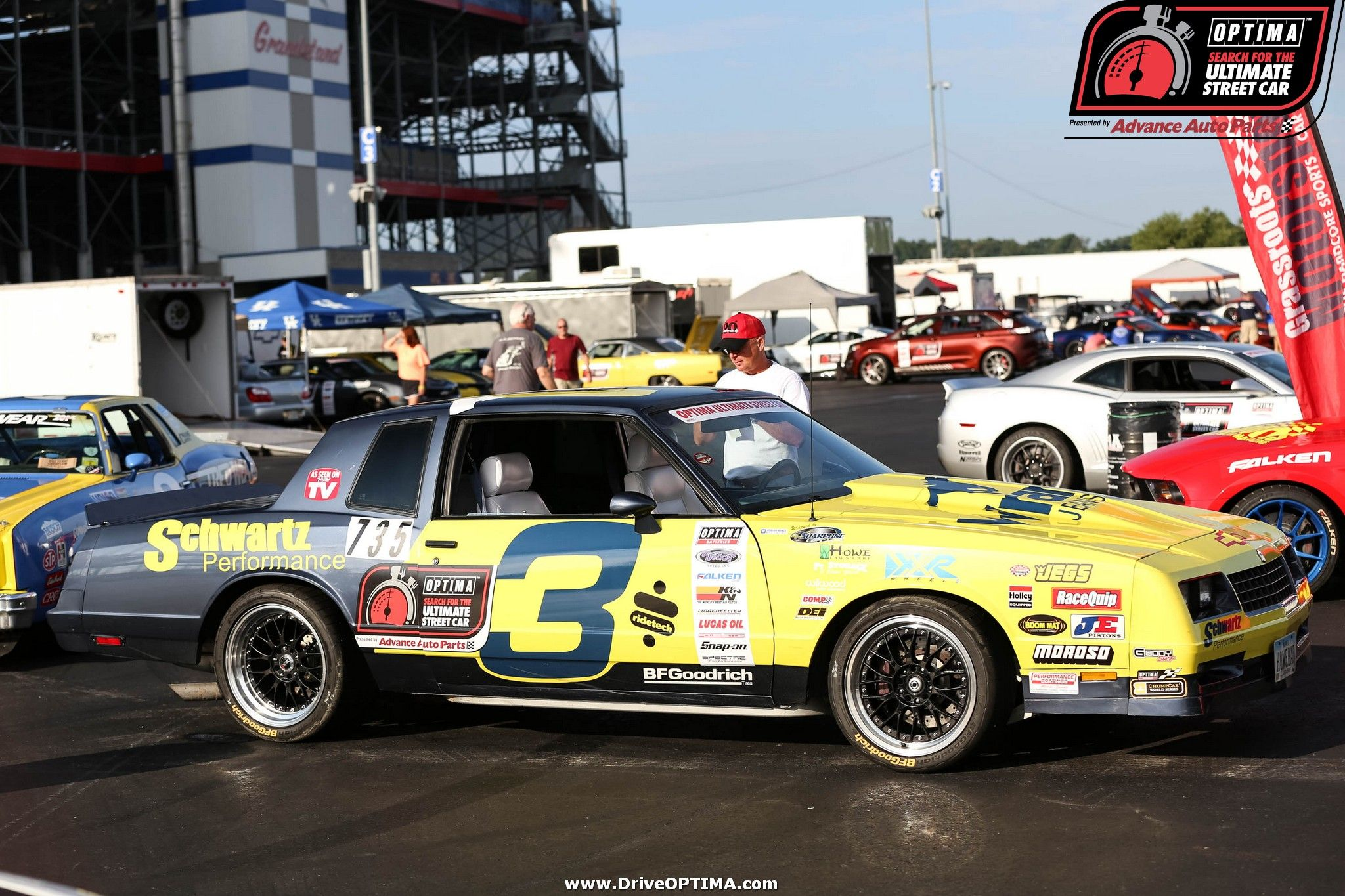 Dan Howe's 1984 Chevy Monte Carlo SS at #DriveOPTIMA at
