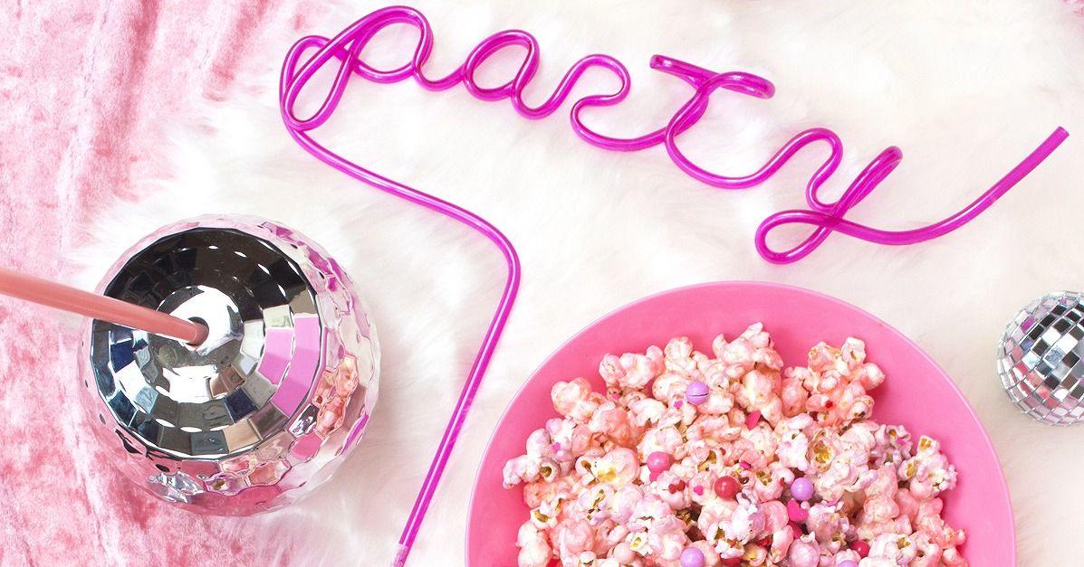 パーティーで映える ゆめかわシュガーポップコーンの作り方 Party