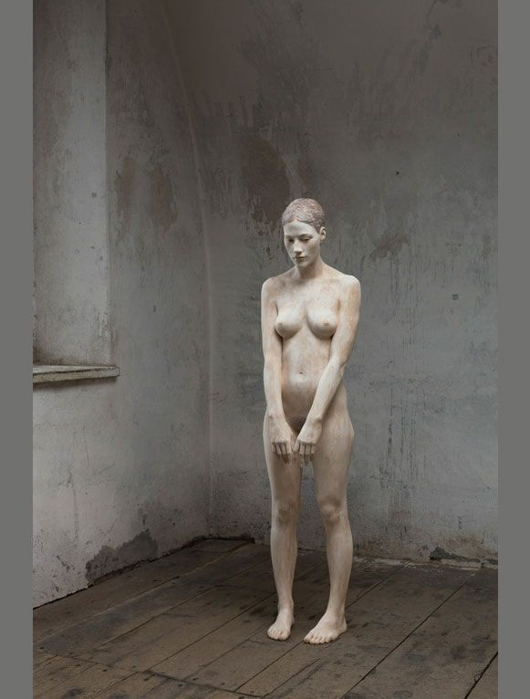Life-like wooden figure sculptures by Bruno Walpoth....Totally Awesome!
