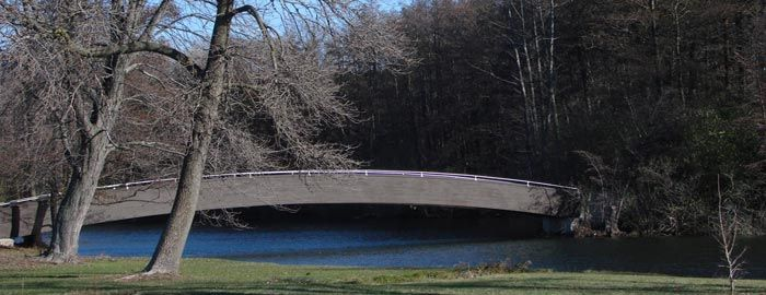 Bridge Over The Ceylon Lagoon At Foot Beach State Park Across Street From