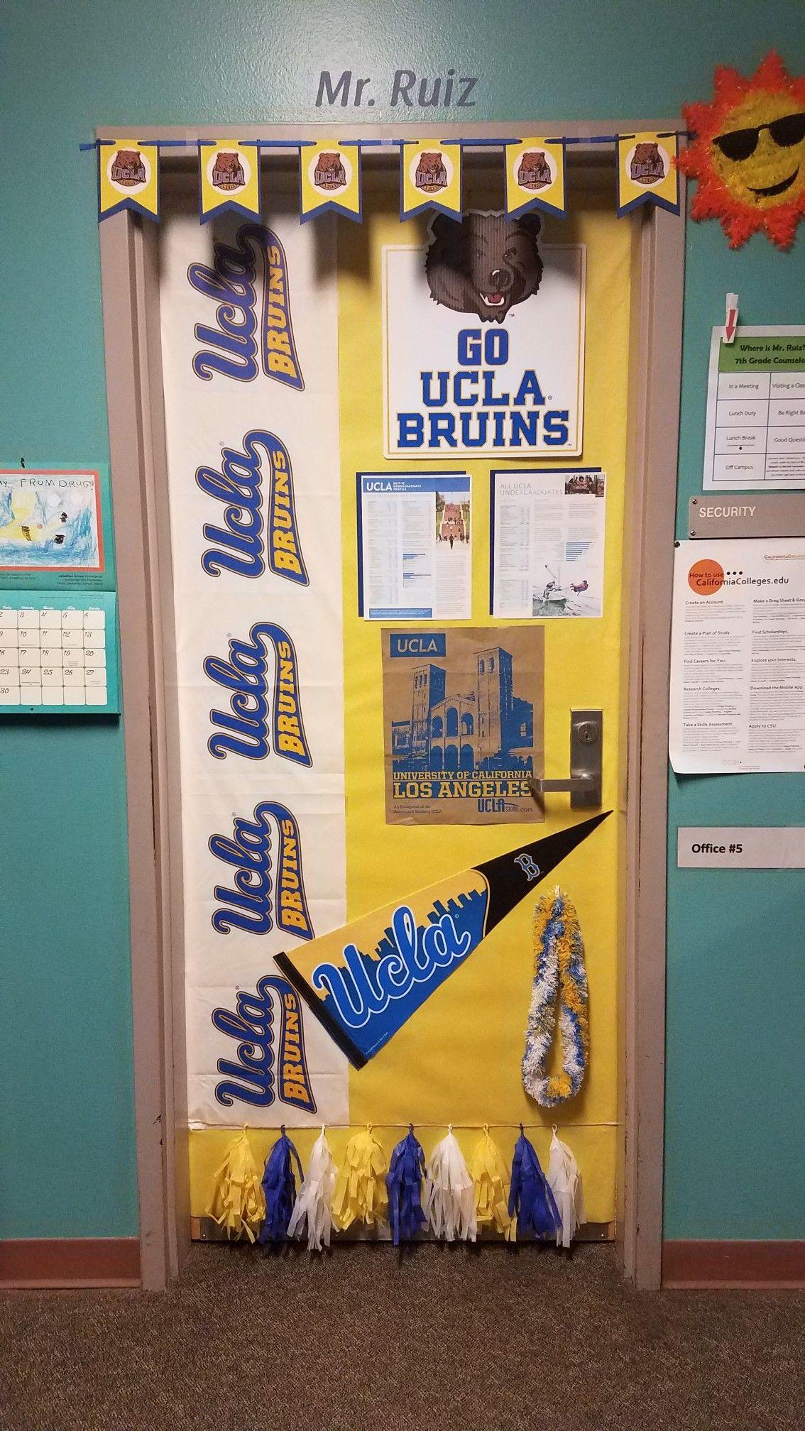 Ucla classroom door Classroom door, Classroom themes