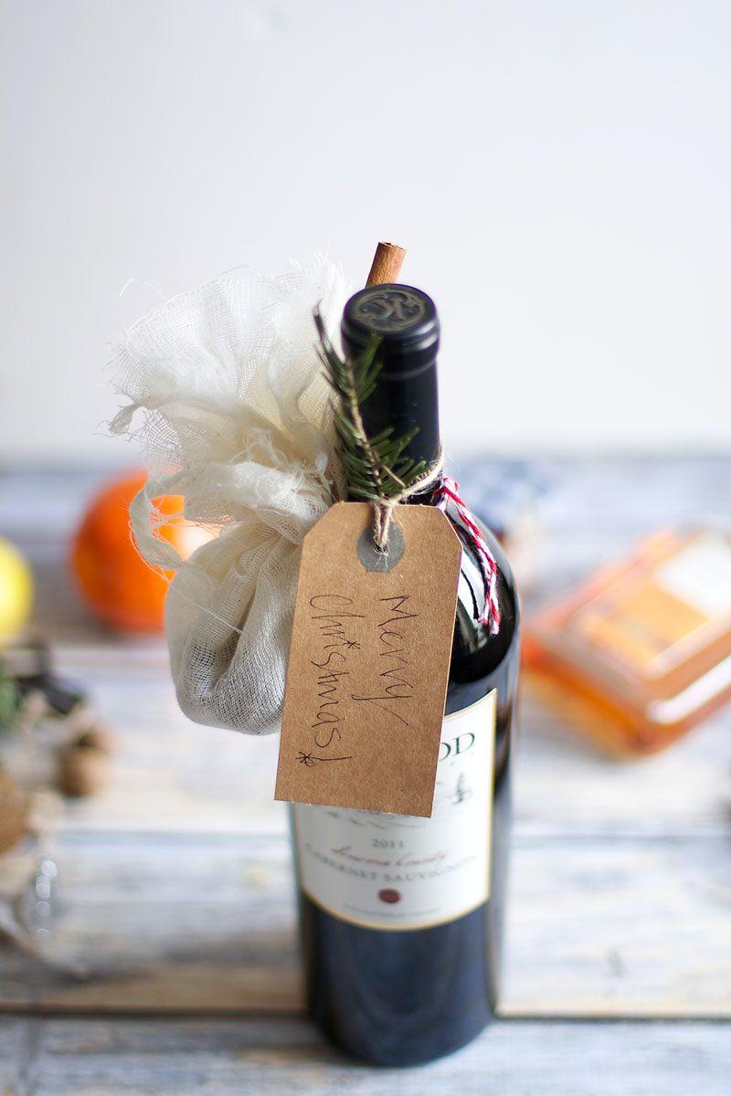 Diy gift mulled wine kit two ways wine christmas