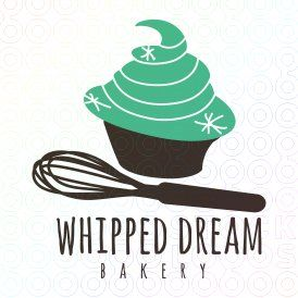 Whipped Dream Bakery | Logo design | Bakery logo, Bakery