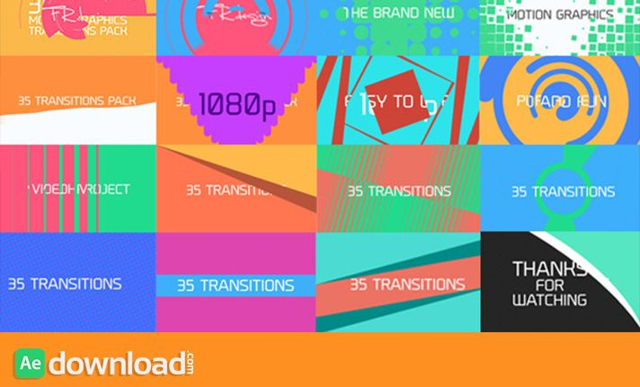 35 Cool Motion Graphics Transitions free download | Anxiety ...